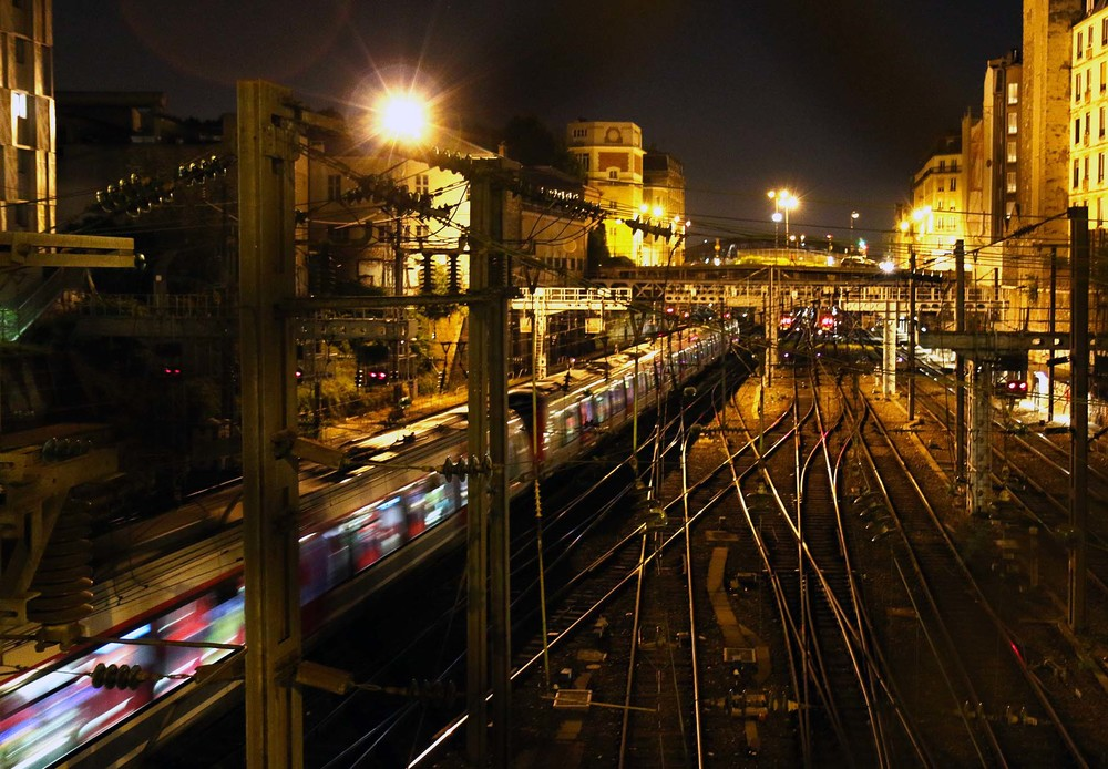 Parisian tracks.
