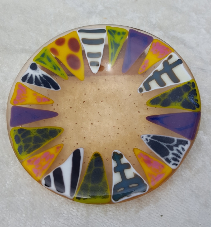 "Quilt plate 7"" $48"