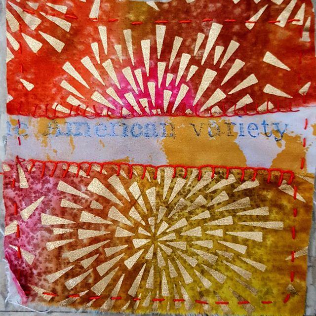 #15  #100dayproject  #creativestrengthtraining #colorful #embroidery #stitchmeditation #nolimit