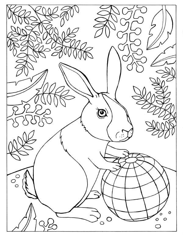 Bunny and Globe