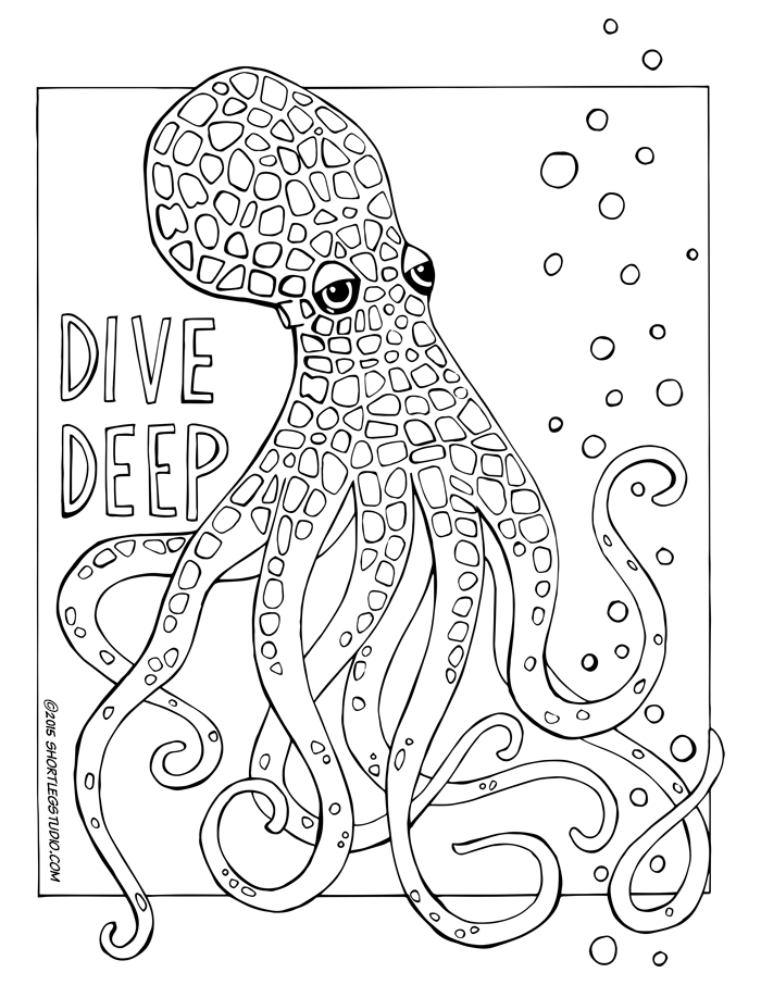 Dive Deep OCtopus