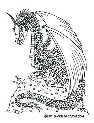 Dragon With Treasure Thumbnail