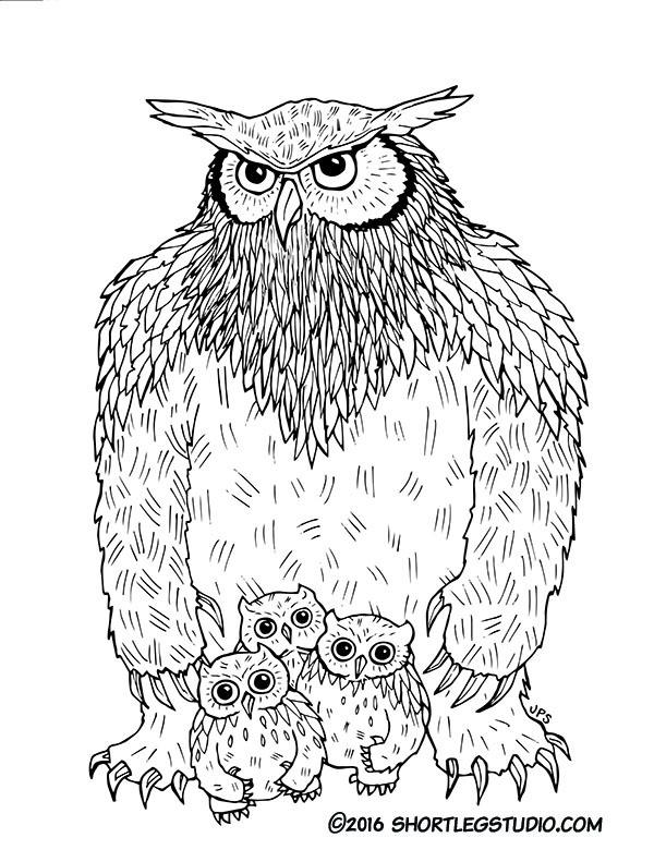 Owlbear and cubs.jpg