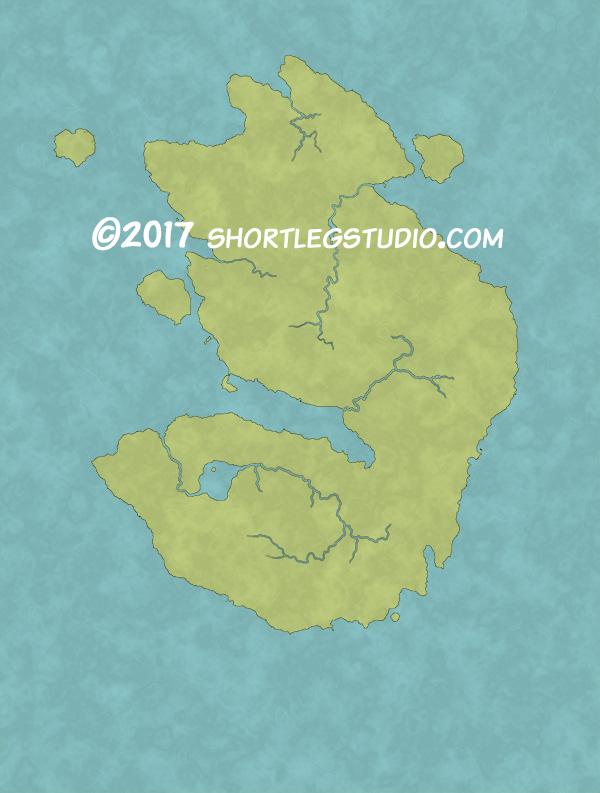 Fantasy Life World Map.Making World Maps With Photoshop Short Leg Studio