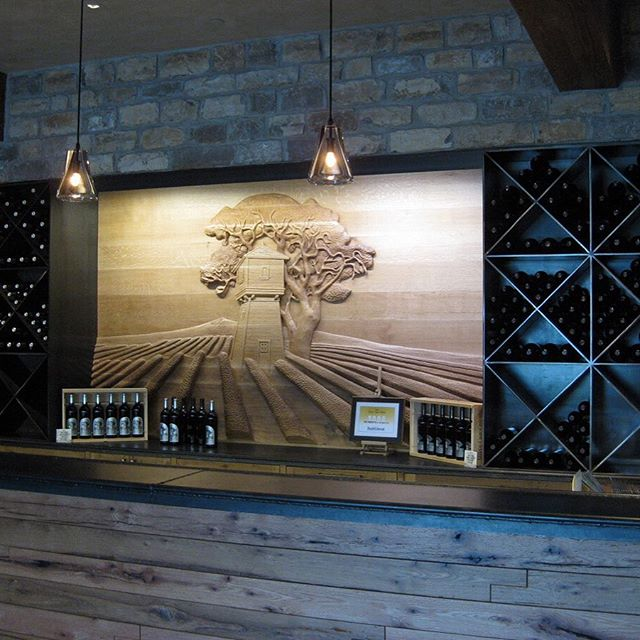 We're particularly proud of this #SilverOaksWinery #WineCabinet that we made.  The cabinet is fabricated from raw steel, this wall to wall cabinet adds a #gothic aesthetic to this #NapaValley winery. What would your ideal wine cabinet look like? Need one made?  Reach out to Blank and Cables about getting a custom Wine Cabinet.  http://ow.ly/Xi5RN  #blankandcables #customsteelfurniture #metalshelves