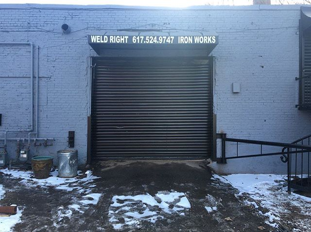 An American Small Business - Weld Right Iron Works This is a short video documenting my Father and Mother's small business in Boston, MA, which recently closed in 2016, after 52 years in existence. https://www.youtube.com/watch?v=heS5nOQpHG4