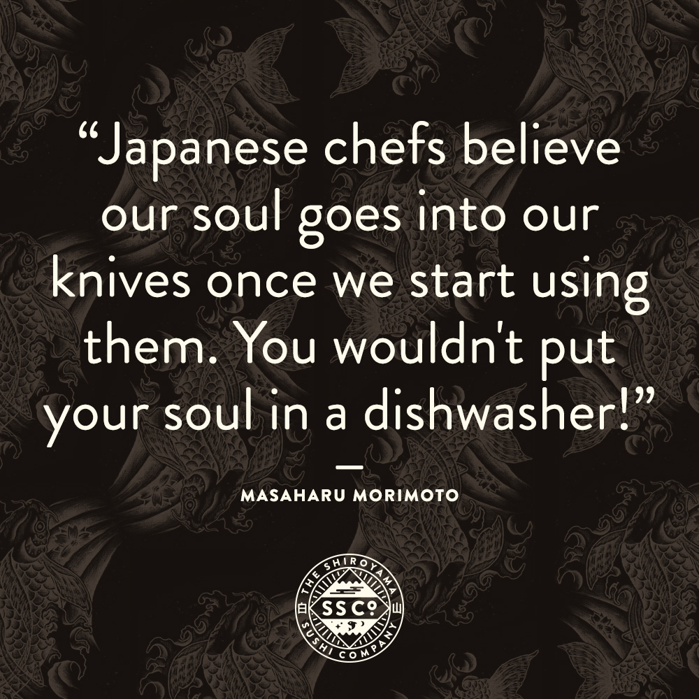 Iron advice from the Iron Chef…