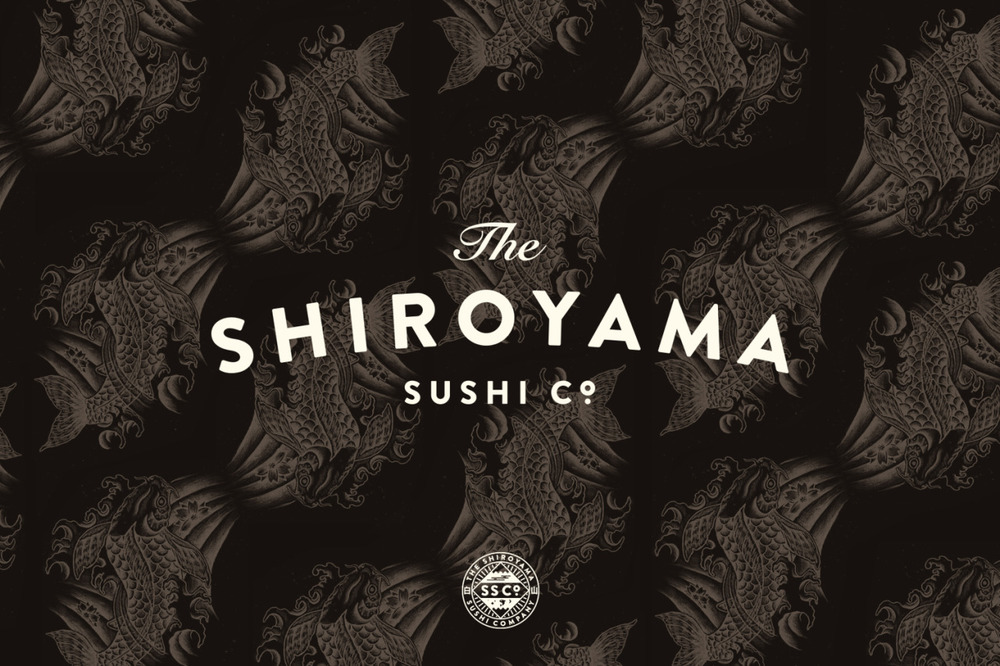 The Shiroyama Sushi Co. — Our banner