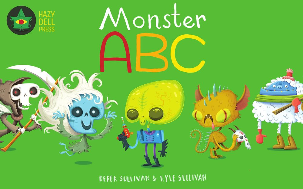 Monster ABC - Kindle Edition cover (2017)