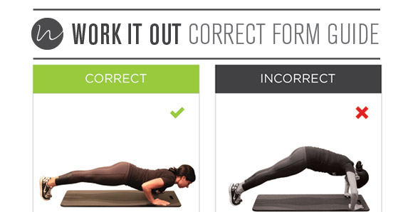 the perfect push up work it out
