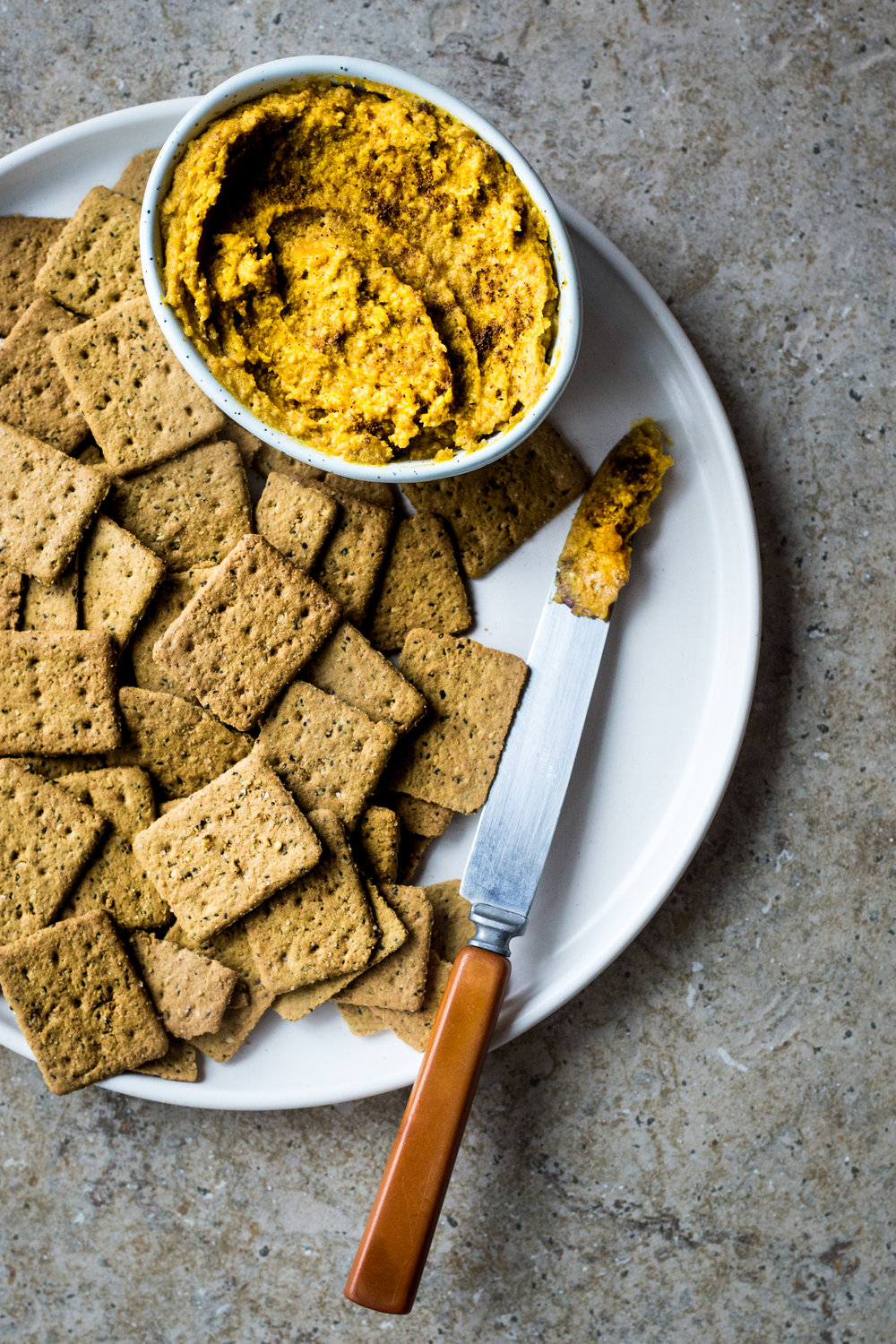 Maple Pumpkin Macadamia Dip