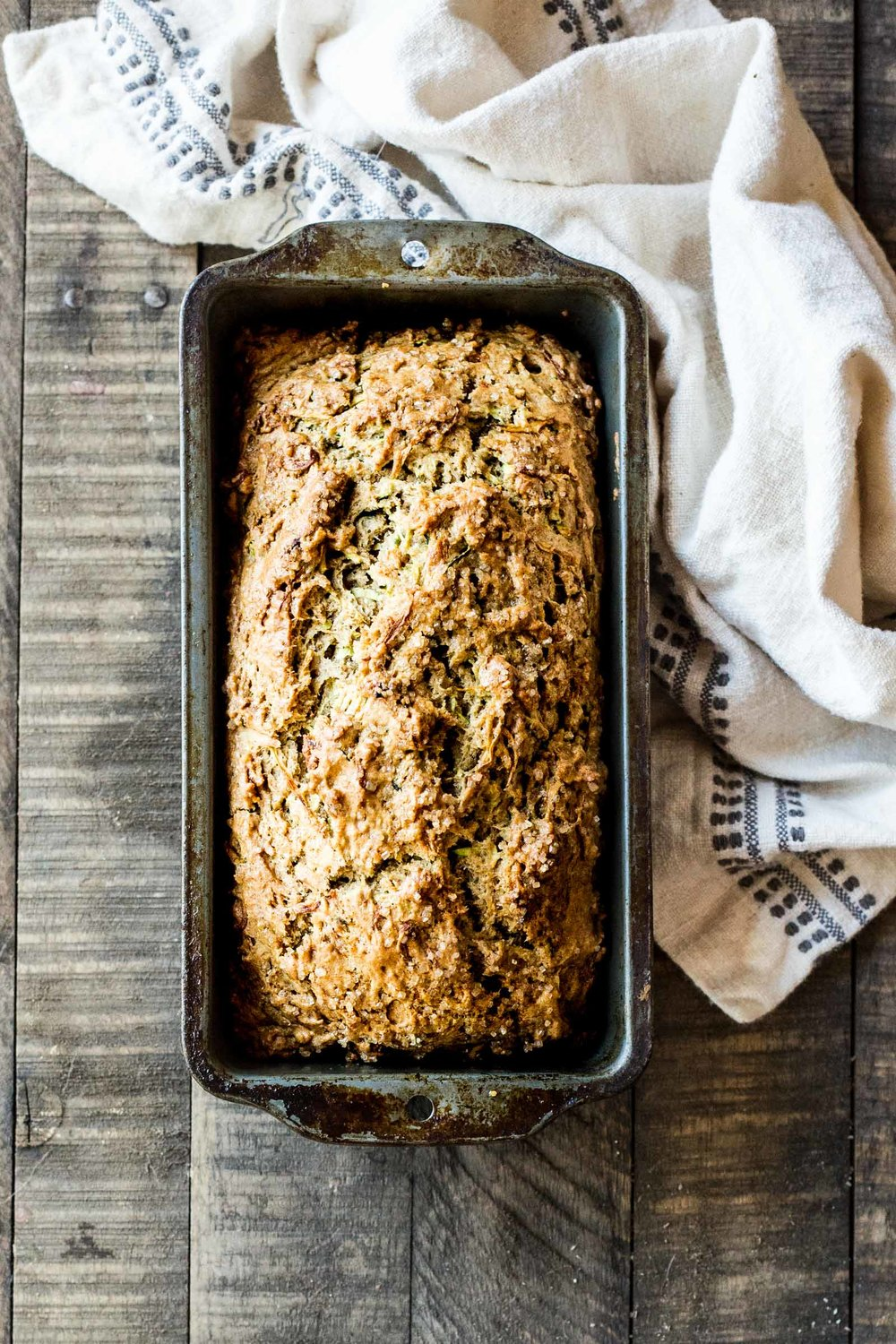 Zucchini Cardamom & Honey Bread
