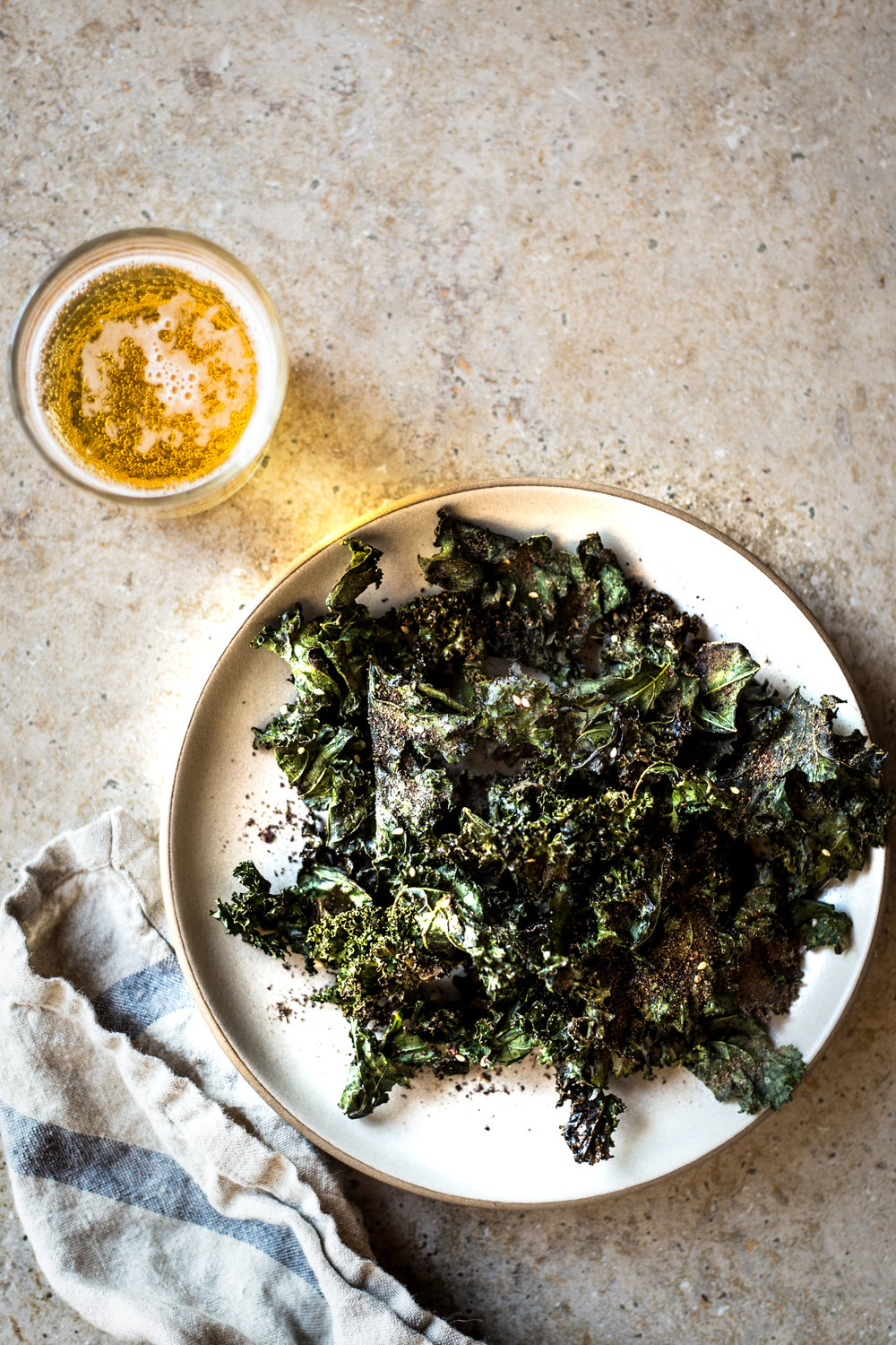 Za'atar Spiced Kale Chips