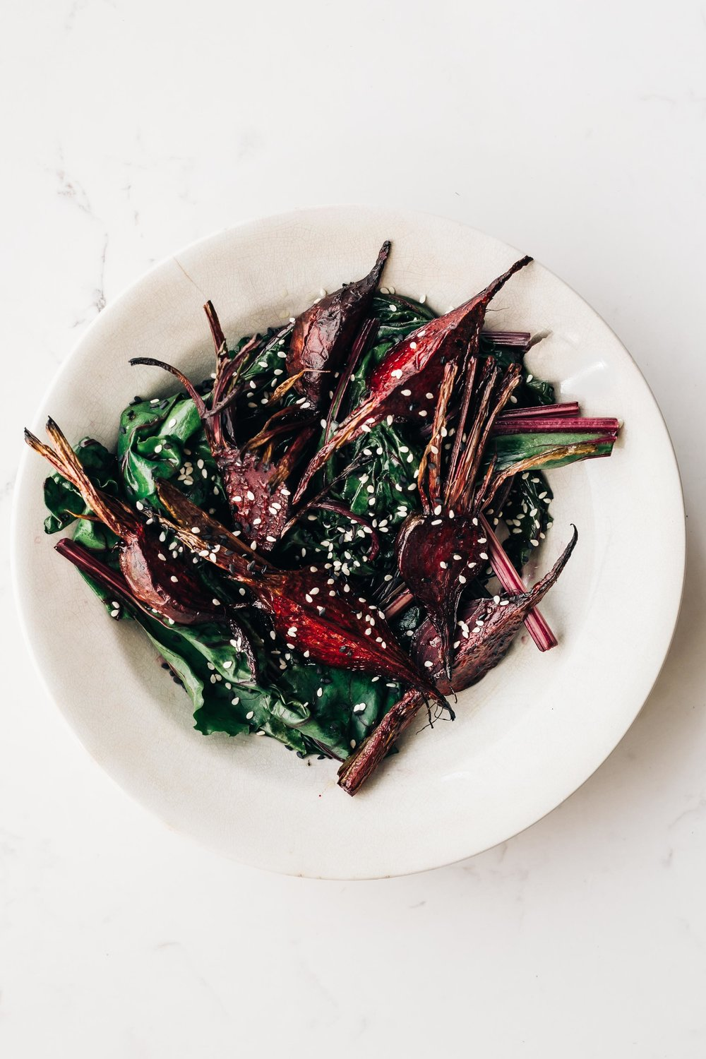 Sesame Ginger Roasted Beets