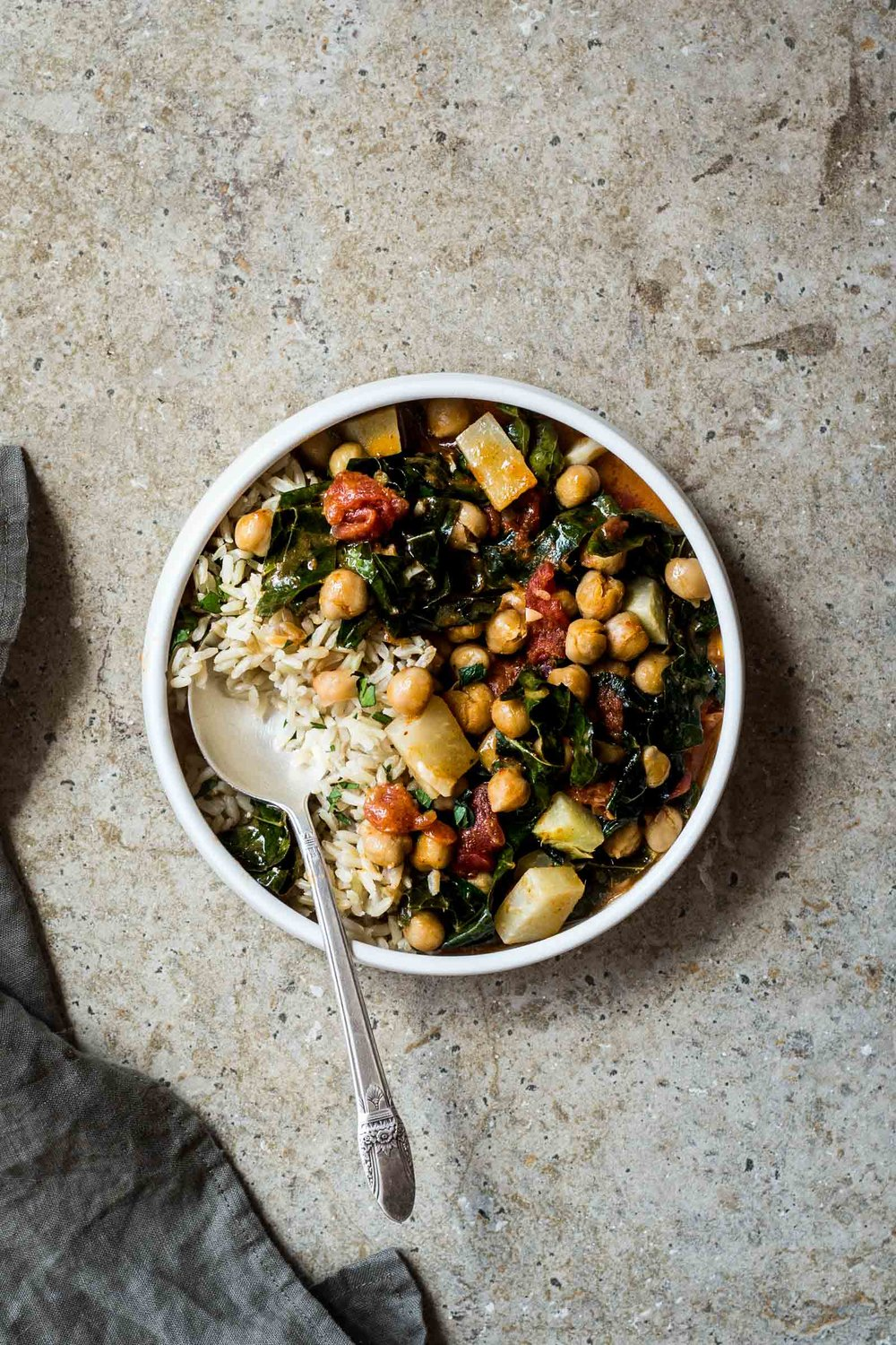 Kohlrabi and Chickpea Curry