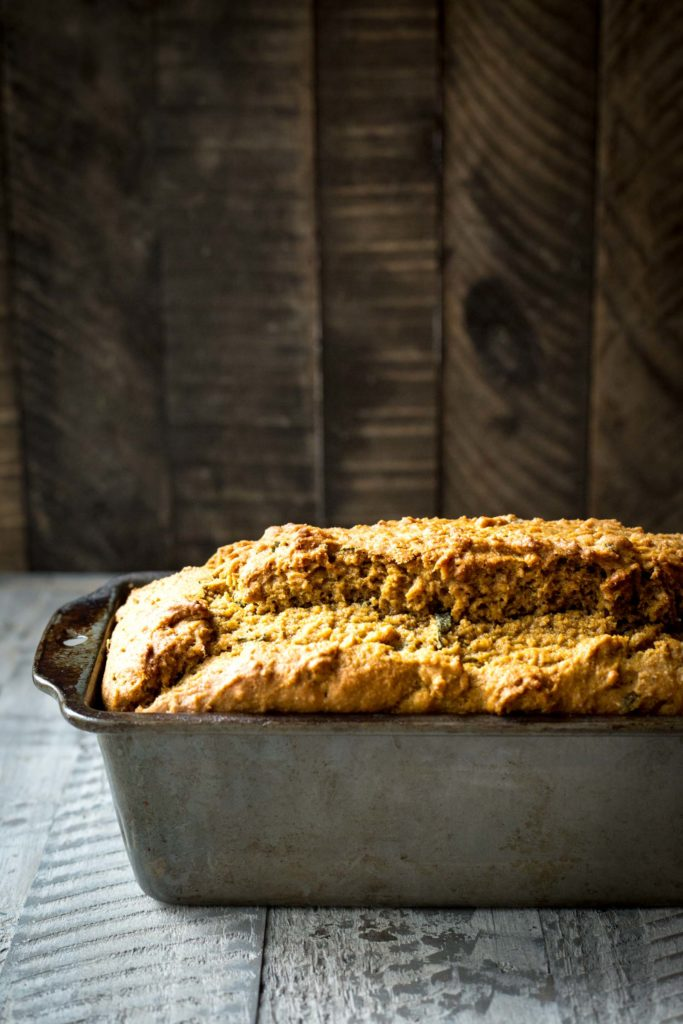 Maple Pumpkin Brown Butter Sage Bread