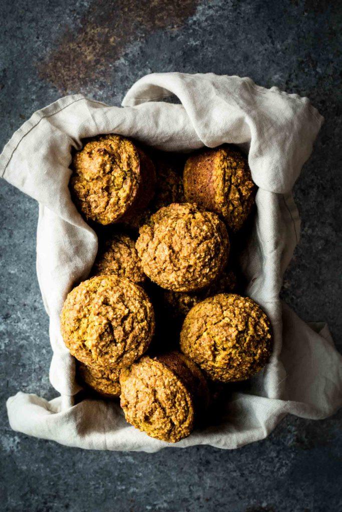 Maple Pumpkin Bran Muffins