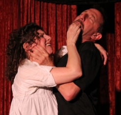 TRACY WITH DAVE RAZOWSKY. DAVE NOT INCLUDED WITH THIS CLASS. PHOTO BY KEN KRAUSS.