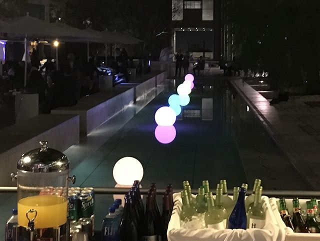 PST Party Afloat/Getty Magic . . . #thegettycenter #pacificstardardtime #party #artistsinmind #gettymagic #gallery #blog