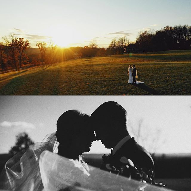 Wedding season is finally winding down, here's a few frames from Katie and Ryan's wedding vow renewal today, caught a great sunset to finish out the day.