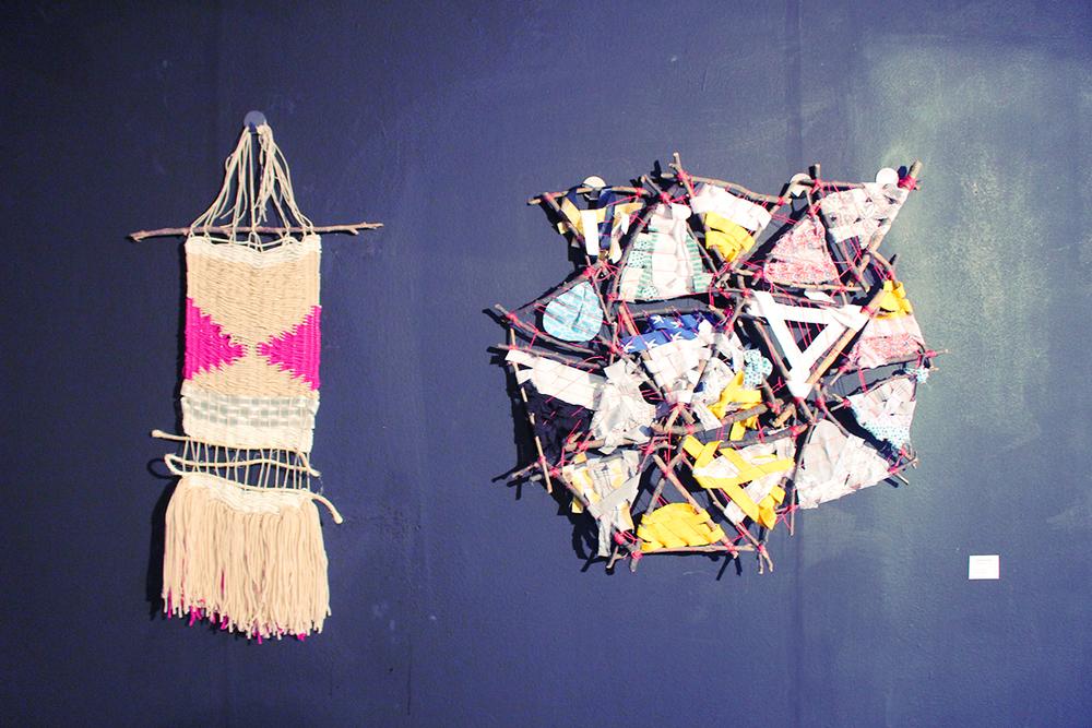 Weaving 1 by Hallie Bradley