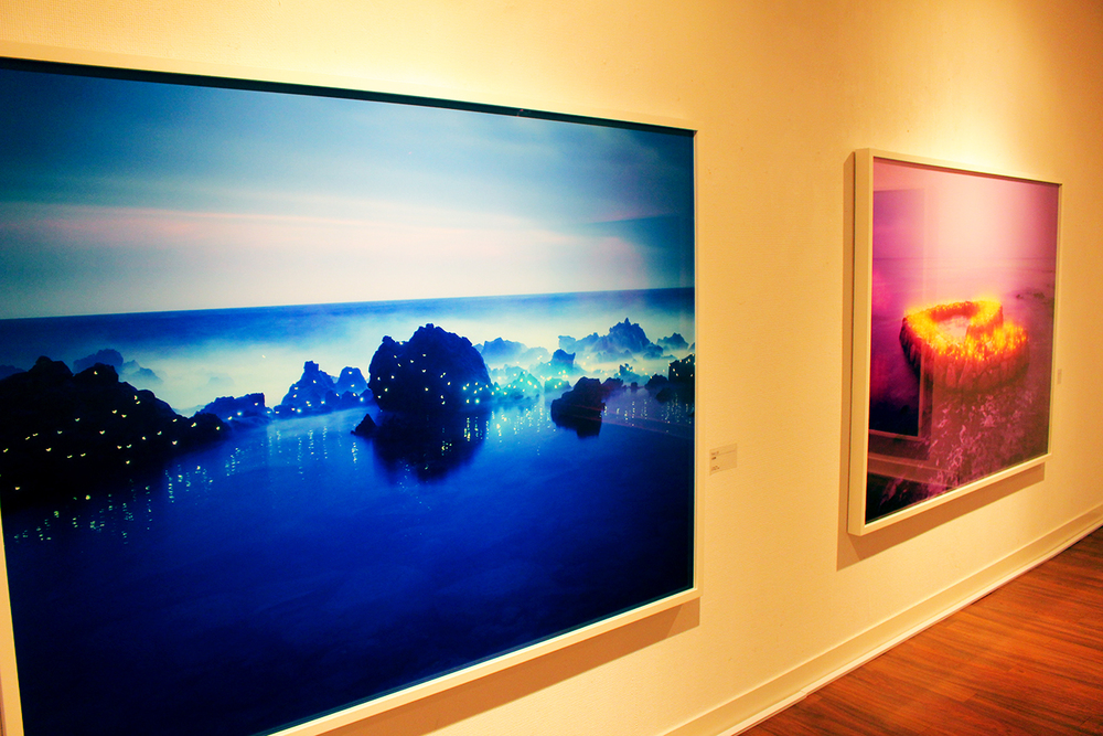 Installation view of Lee Jeong Lok