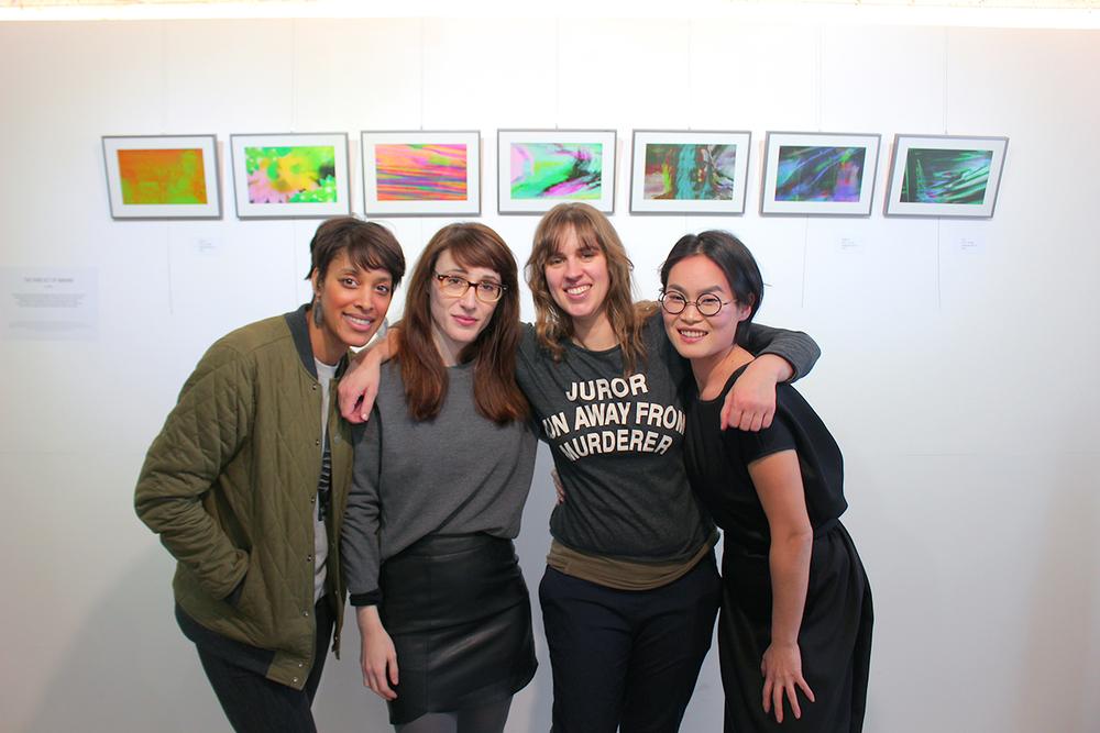 CM ladies with curator Kelsey Hong