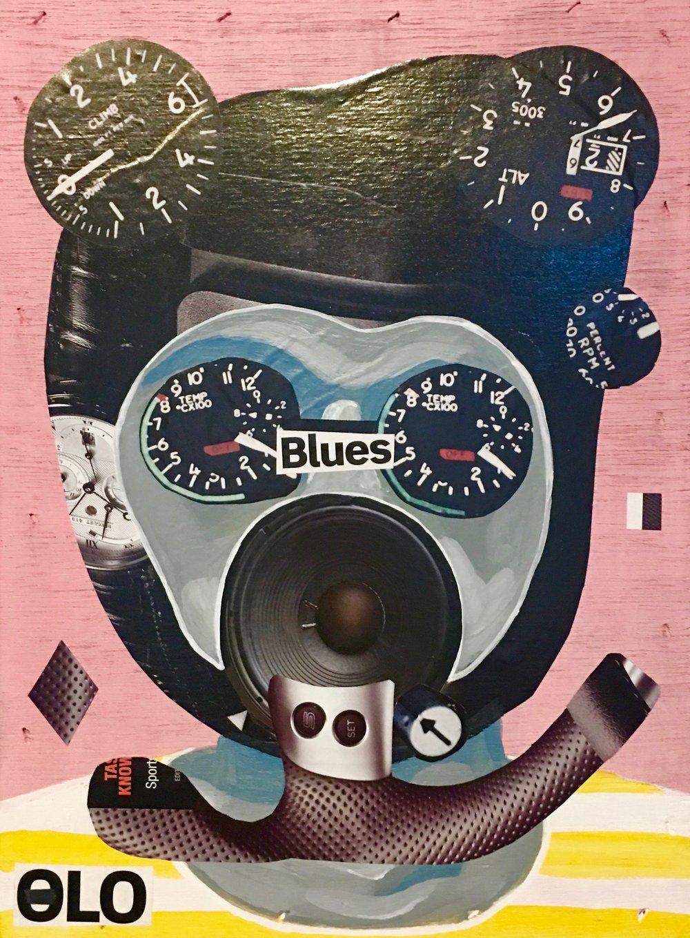 Jeong Ju Moon, Blues, 2016