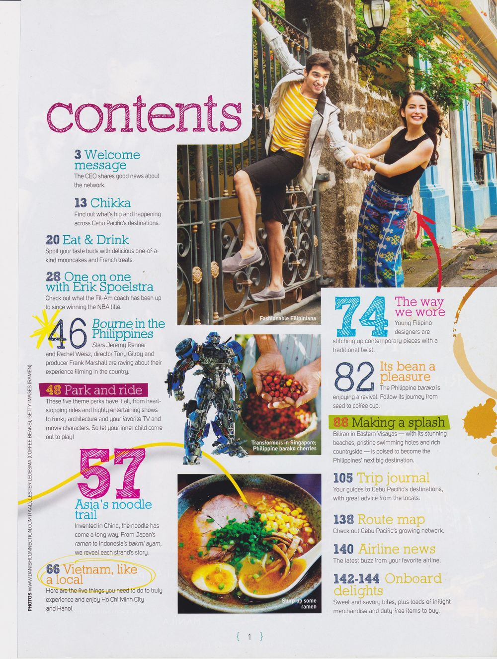 Smile Magazine for Cebu Pacific