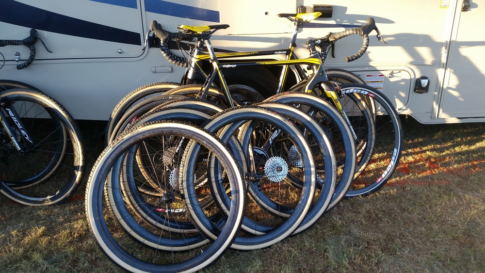 Telenet Fidea brought a few spare wheels...
