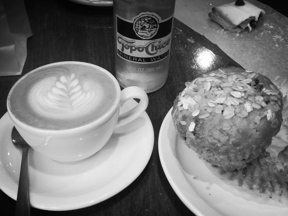 Obligatory coffee shop photo