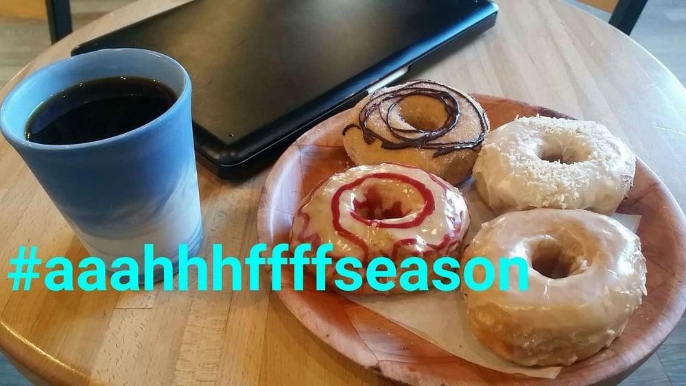 Single serving at Vortex Donuts