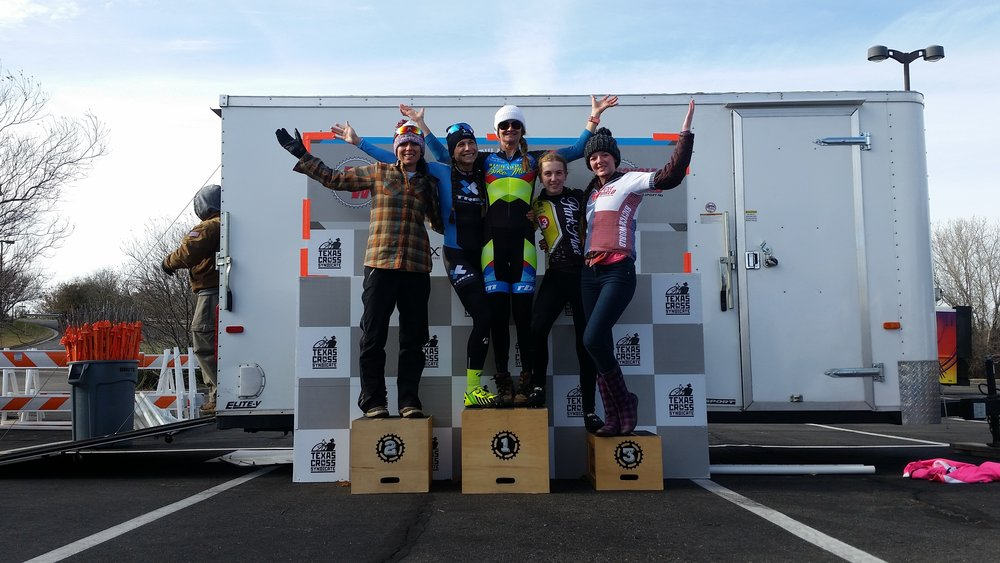 Women's Sunday Podium
