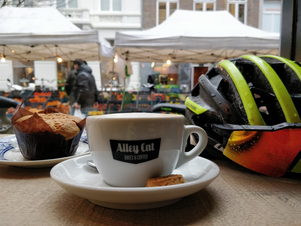 Coffee & Muffins at Alley Cat Bikes & Coffee