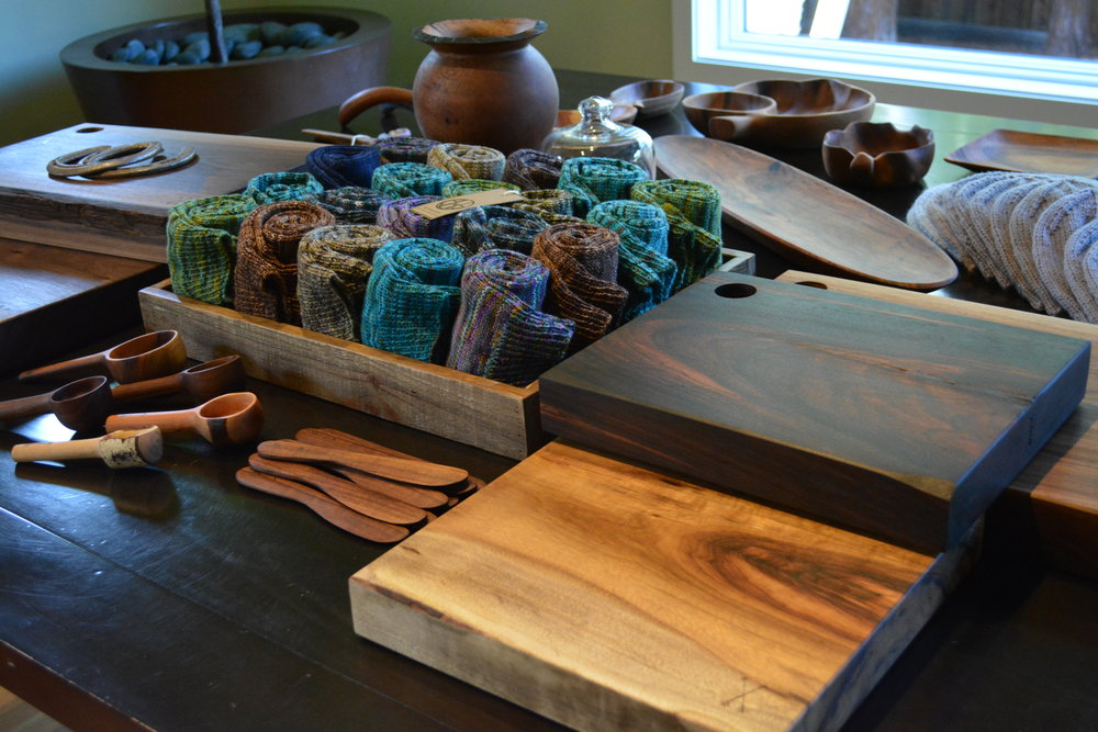 "New stuff including my ""Stripped"" line. Vintage wood items that I have hand-sanded to ""strip"" off cheep varnish and restored with a magic potion of beeswax and mineral oils."