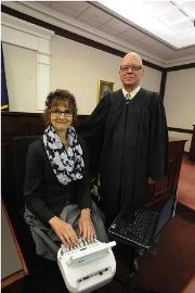 Sandra Boe, Genesee County court reporter