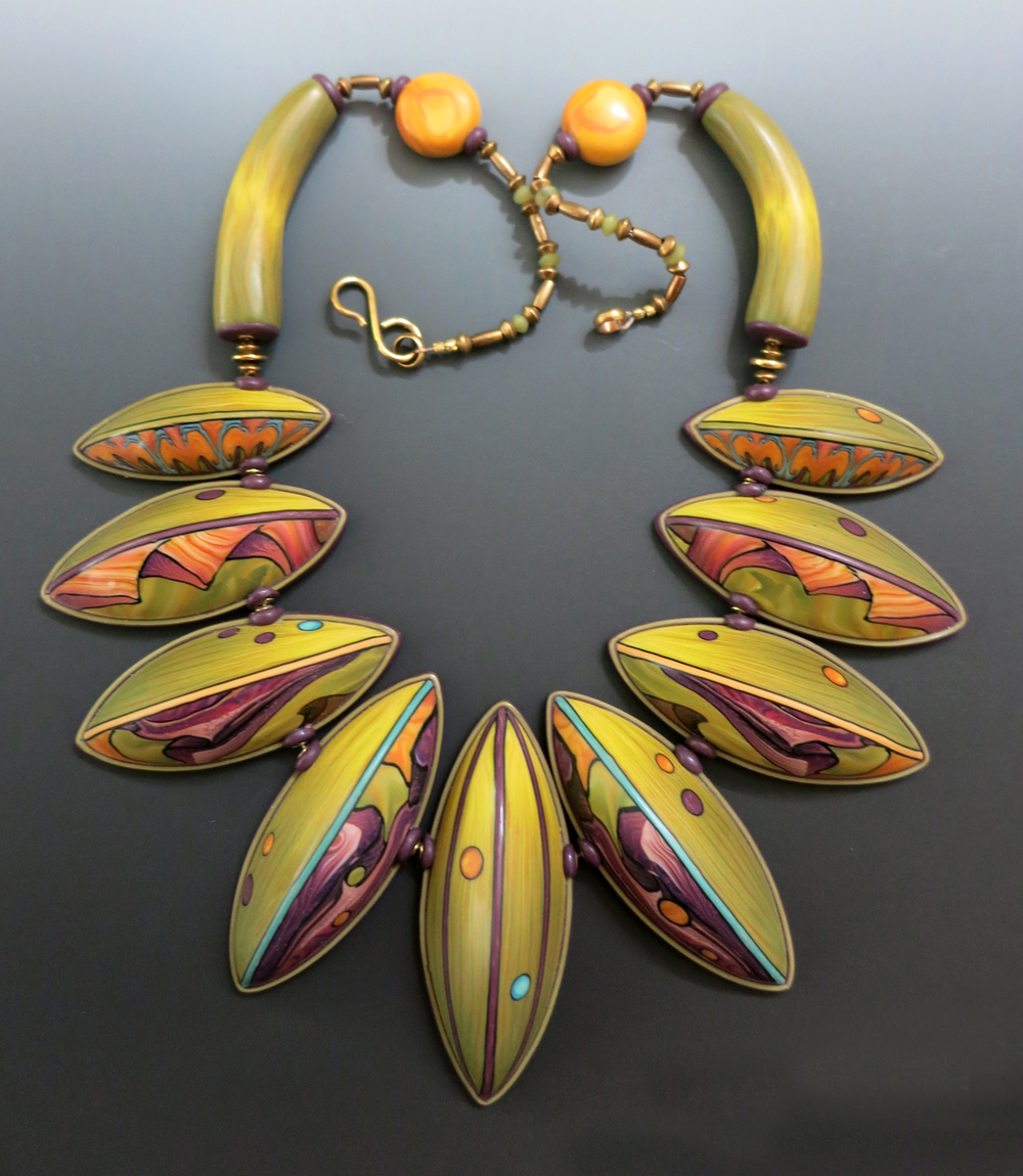Tropical Collar Necklace    2014