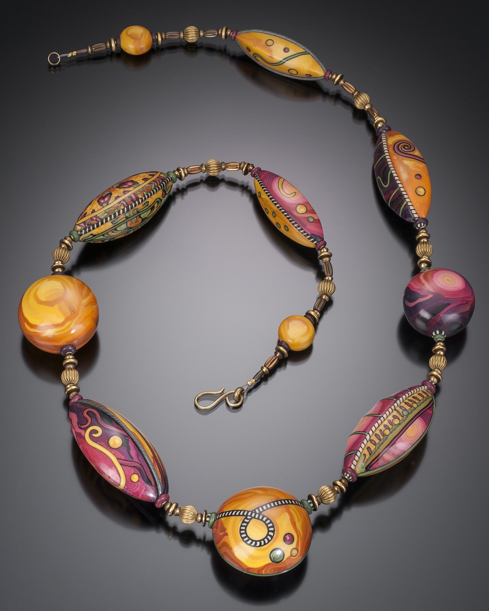 Big Bead Necklace   2012