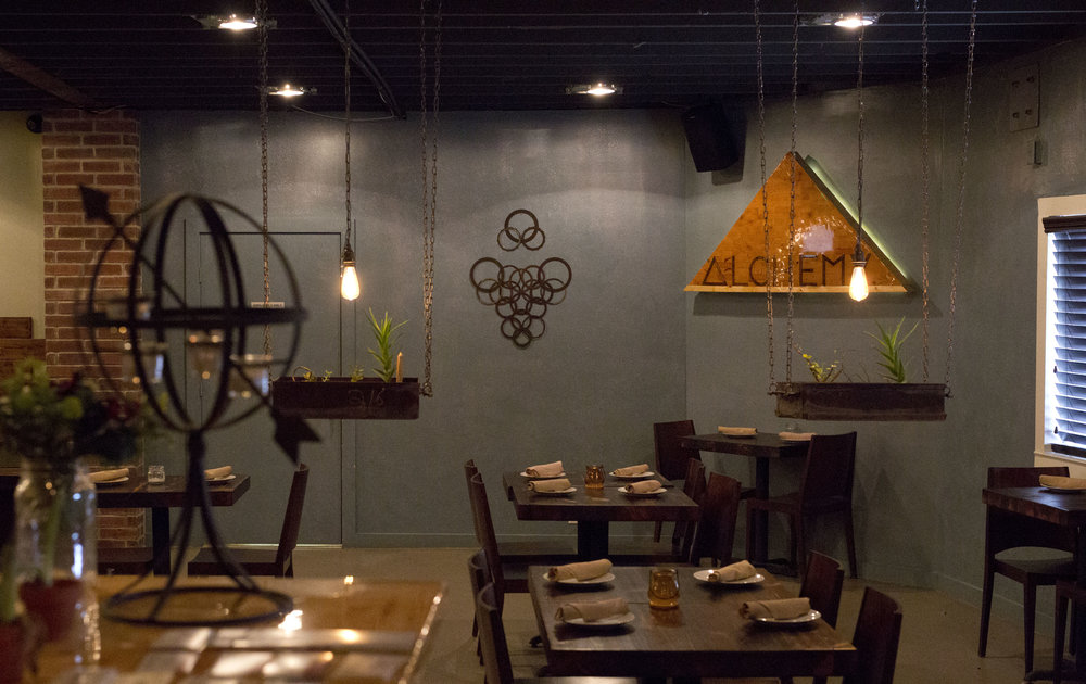 Alchemy Kombucha and Culture Restaurant Interior