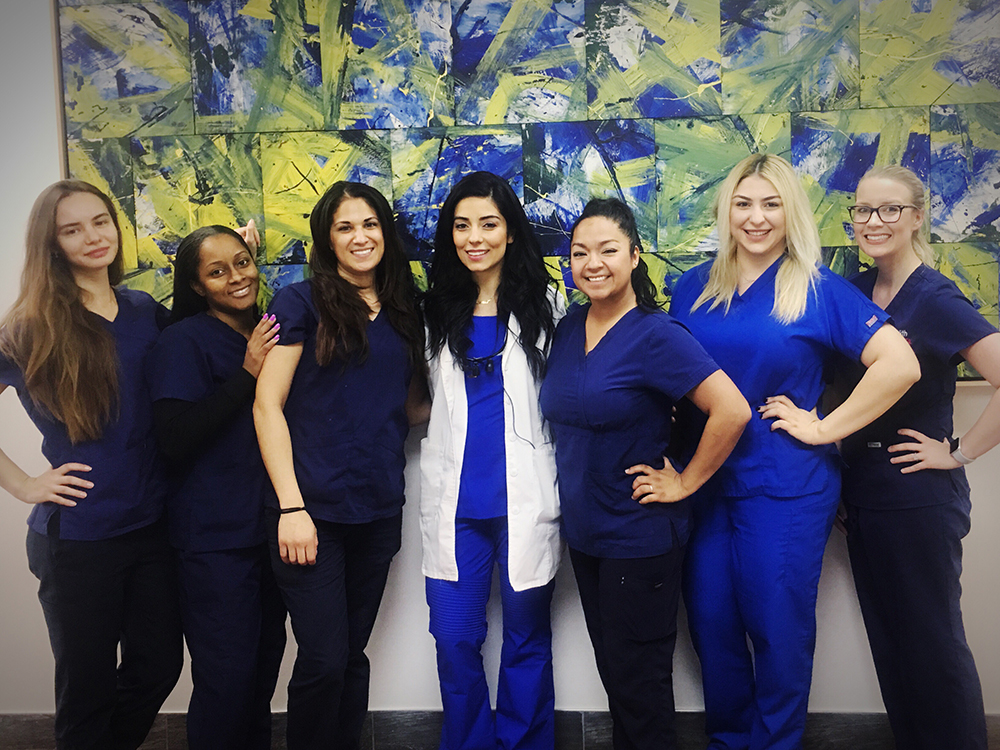 female dentist Culver City