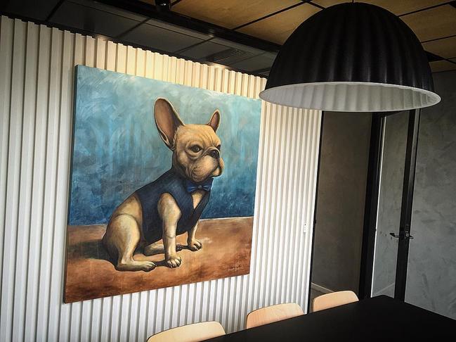 Bulldog in the boardroom