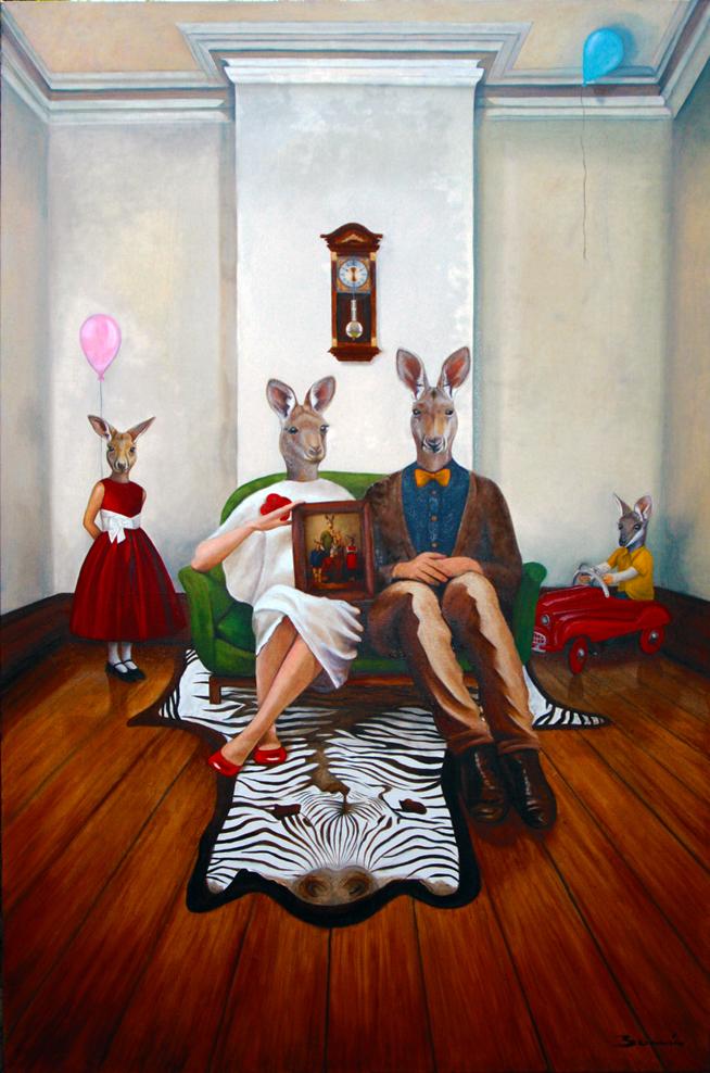 Modern Australian Family Portrait