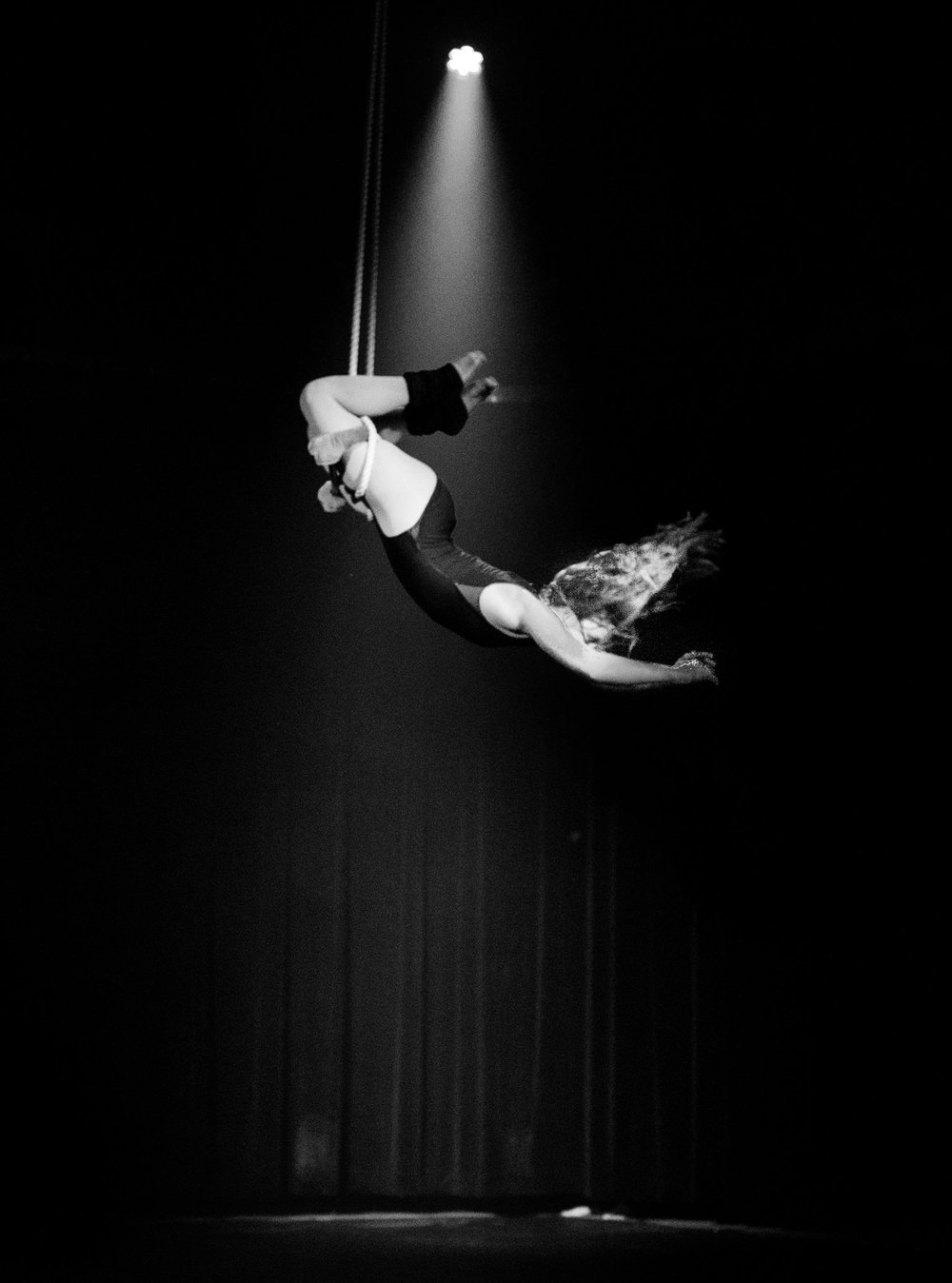 Nashville aerial trapeze performer
