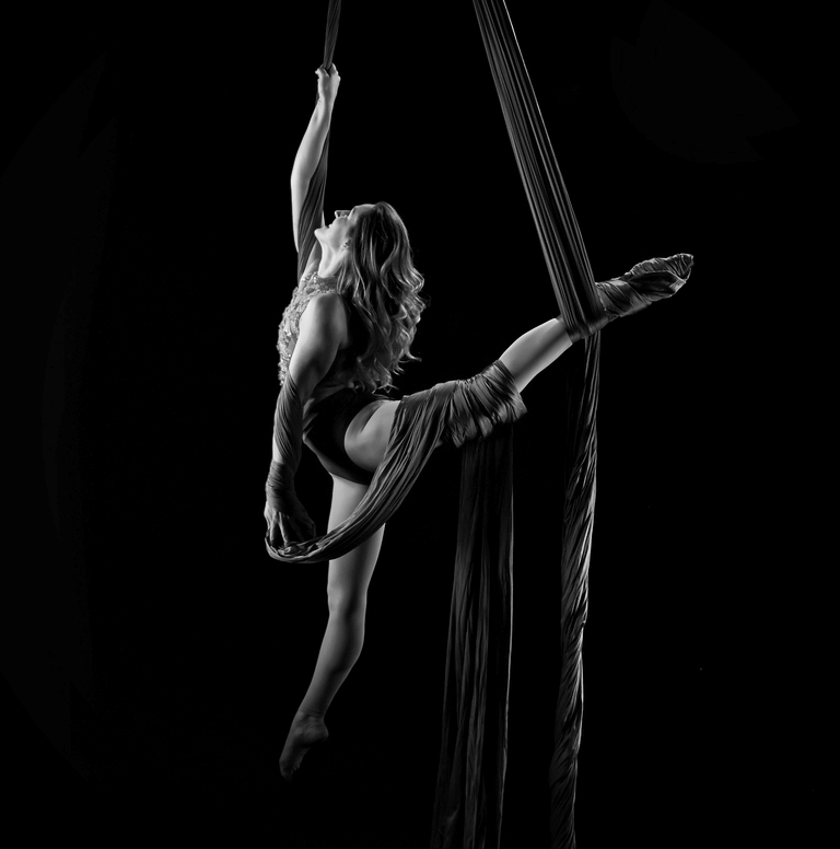 Paige Muirhead  After dancing her way through school, Paige found her true passion as an aerialist in 2013. She trains aerial silks, aerial hammock, lyra, and hula hooping. The uniqueness, creativity, and strength that surrounds her daily life keeps Paige exploring the varieties of circus arts and falling in love with all of it. She has performed in various shows in Nashville, including the Sideshow Fringe Festival, Music City Burlesque, Tomato Arts Festival, and the Nashville Night Market.