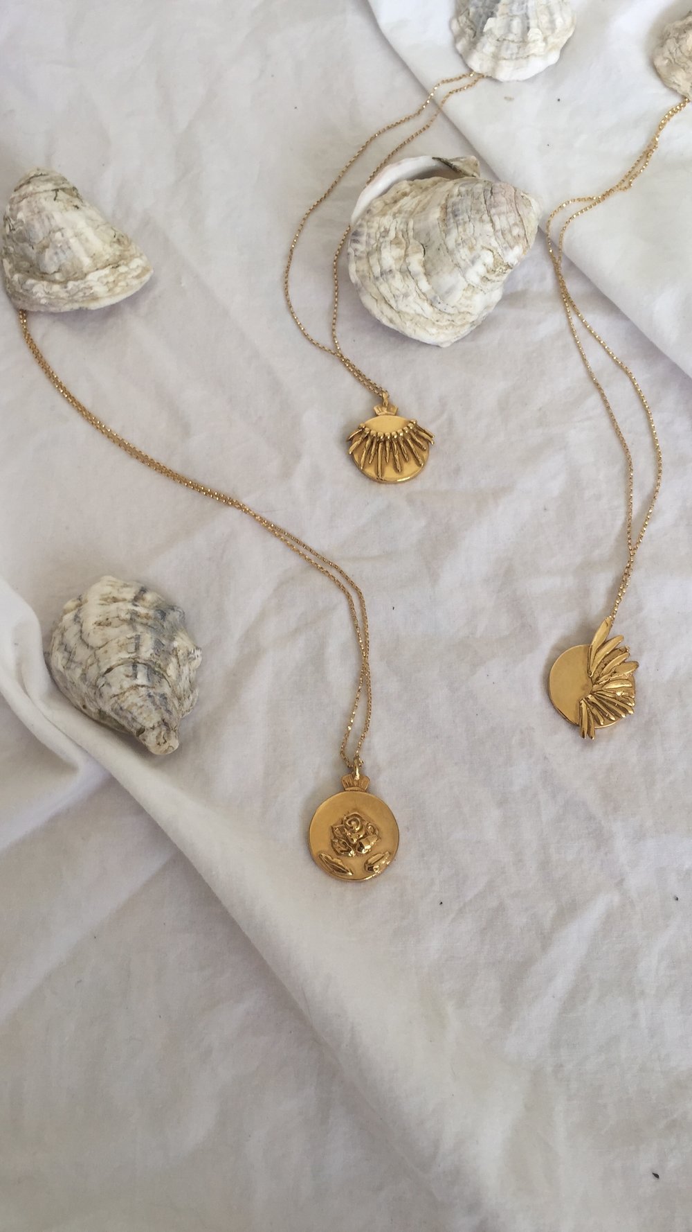 SOLE, CORVO & ROSETTE NECKLACES