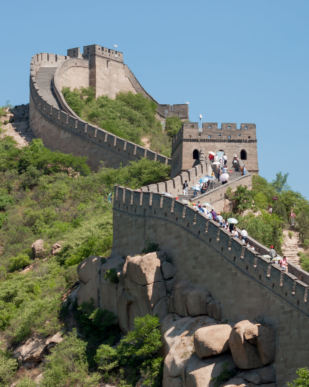 Physical walls such as the Great Wall of China aren't the only kind.