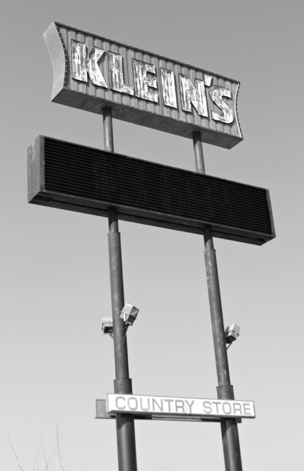 Klein's Truck Stop at Herndon Avenue north of Fresno had a reputation among locals as serving some of the best breakfasts in town. But truckers were the most valued clientele: They were always served first.  ©  Stephen H. Provost, 2014.
