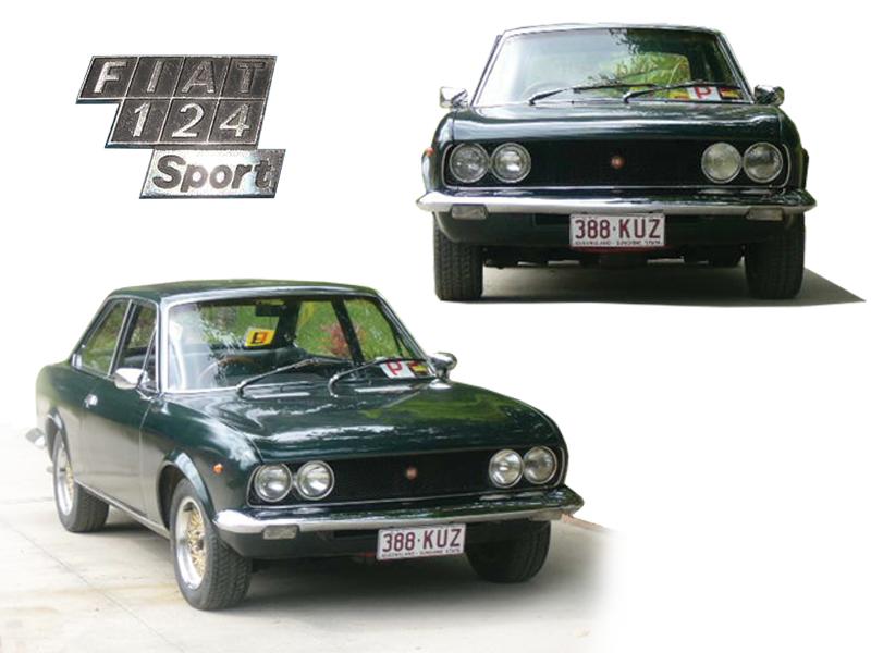 Fiat 124 BC Sport, 2008.