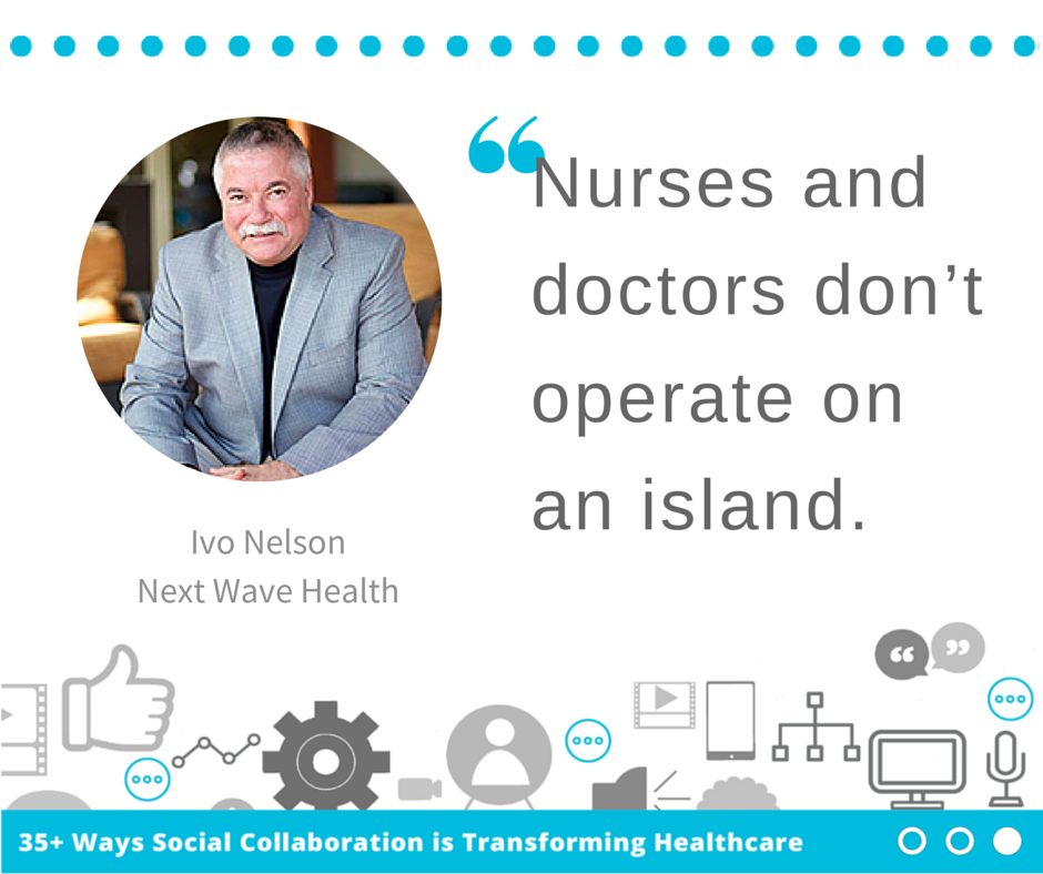 Ivo Nelson: How is Social Collaboration Transforming Healthcare