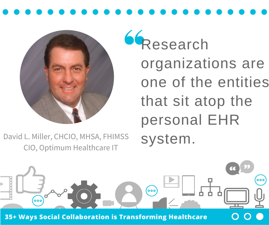 Social Collaboration Eliminating Silos in Medical Research by David Miller